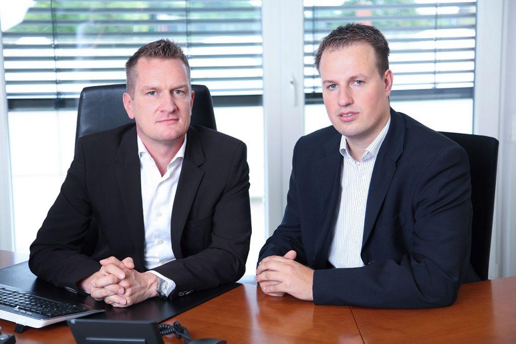 Rehm Dichtungen Geschäftsführer Fabian Ehlers und Sören Adam