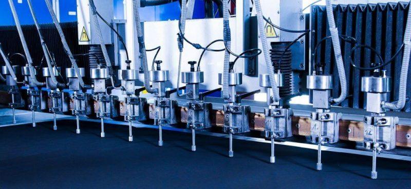 Wasserstrahltechnik mit unseren Wasserstrahlschneidanlagen